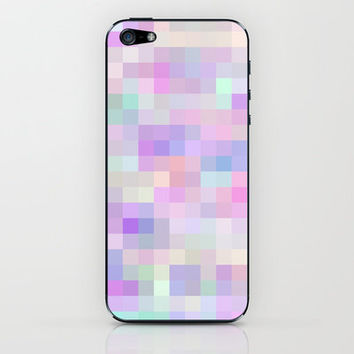Re-Created Colored Squares No. 31 iPhone & iPod Skin by Robert Lee