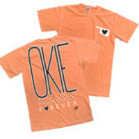Orange Okie T shirt