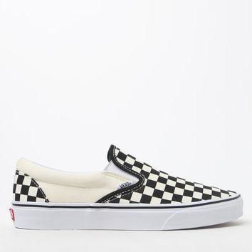 Vans Checkerboard Slip-On Shoes at PacSun.com