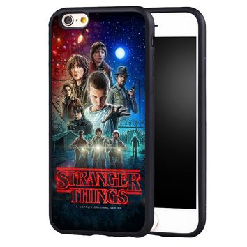 Stranger Things fashion cell phone case cover for Samsung Galaxy s4 s5 s6 S7 edge S8 plus note 2 3 4 5