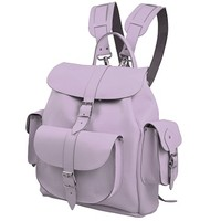 Grafea LAVENDER - Leather Backpack