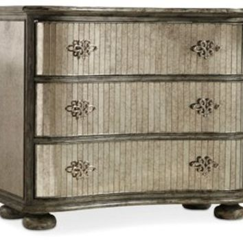 Javier Mirrored Chest, Chest of Drawers