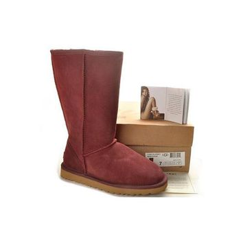 Ugg Boots Black Friday Classic Tall 5815 Sangria For Women 83 00