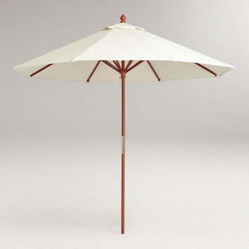 9' Brown Umbrella Frame - World Market