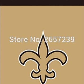 New Orleans Saints Wordmark Vertical Flag 3x5FT NFL banner 100D 150X90CM Polyester brass grommets custom066, Free Shipping