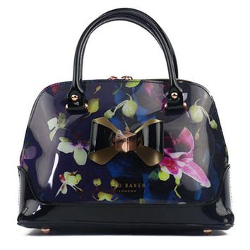 CREYV9O Ted Baker Women Shopping Leather Tote Crossbody Satchel Shoulder Bag