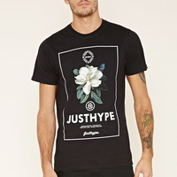 Just Hype Floral Graphic Tee