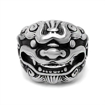New Arrival Shiny Stylish Jewelry Gift Strong Character Titanium Accessory Men Ring [6526814339]
