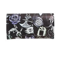 Disney The Nightmare Before Christmas Character Flap Wallet