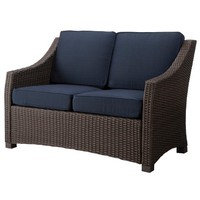 Threshold™ Belvedere Wicker Patio Loveseat
