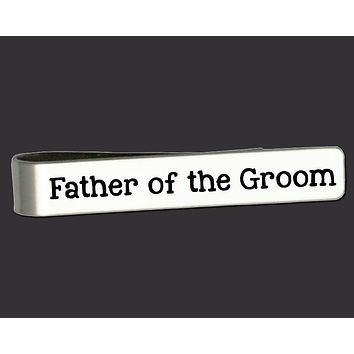 Father of the Groom Tie Bar