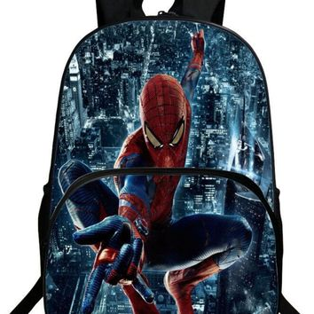 Hot Spiderman Backpack Kids School Bags For Boys Daily Backpacks Children Backpack Hero Spiderman Bookbag Schoolbags Best Gift
