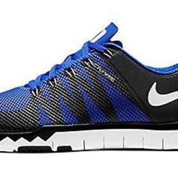 Nike Men's Free Trainer 5.0 V6 AMP (Duke) Training Shoe Black/Royal size 14