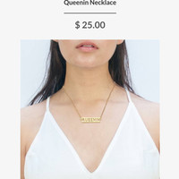 Queenin Necklace