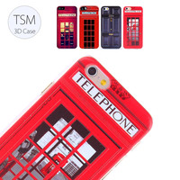 Telephone Booth iPhone Case