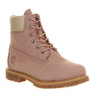 Timberland Premium 6 Boot Light Pink Nubuck - Ankle Boots