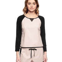 Perforated Faux Leather Top by Juicy Couture