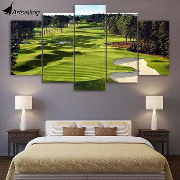 Augusta Golf Course 5 Piece Canvas