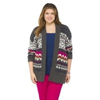 Plus Size Open Cardigan Sweater-Mossimo Supply Co.