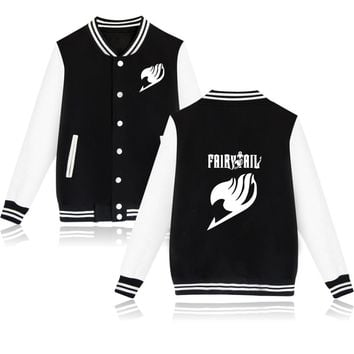 Trendy SMZY Fairy Tail Baseball Jacket Capless Mens Hoodies And Sweatshirts Fashion Hoodies Boys Winter Classic Anime Jacket Clothes AT_94_13