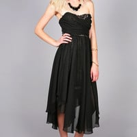 Draped Glamor Dress