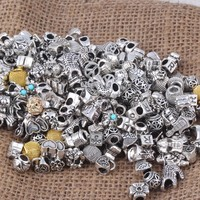 Mixed Pandora Charms Bracelet