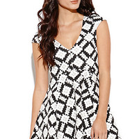 MinkPink Versus Abstract Dress at PacSun.com