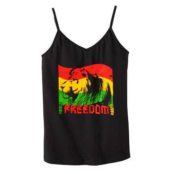 Freedom Rasta Shelf Bra Tank Top
