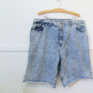 Denim Jean Shorts Vintage 80s 90s 42 x 13