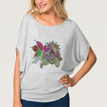 Colorful Rainbow Abstract T-Shirt