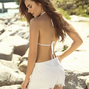 Ivory Beach Cover Up Shorts