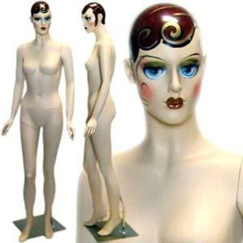 MN-223 Vintage Style Standing Female Mannequin - Mary Sunshine