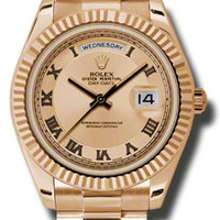Rolex Day-Date II Mens Automatic Watch 218235CCRP