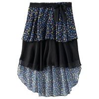 Disney D-Signed Floral Tiered Skirt - Girls 7-16, Size: