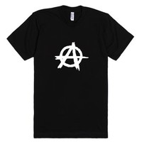 Aanarchy T-Shirt-Unisex Black T-Shirt