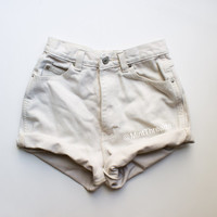 "ALL SIZES Vintage ""HADES"" High Waisted Denim Shorts"