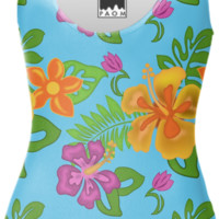 Hawaiian Tropical Swimsuit created by Natures Sol | Print All Over Me