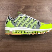 DCCK2 N1174 CLOT x Nike Air Max 97 Zoom Haven Running Shoes Green