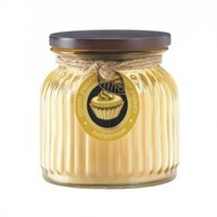 Ribbed Jar Candles