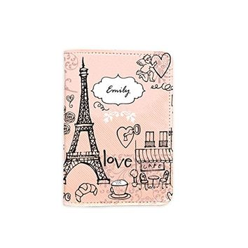 Travel The World Inspiration Leather Passport Holder - Passport Protector - Passport Cover - Passport Wallet_Mishkaa