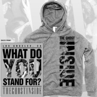 The Ghost Inside - What Do You Stand For Hoodie | Merchconnectioninc.com