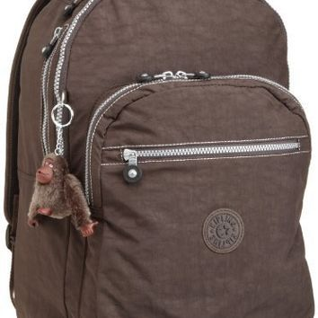 Kipling Seoul Large Backpack With Laptop Protection,Espresso,One Size