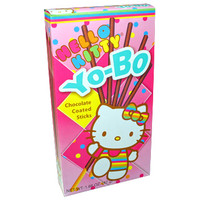 New Products - AFG - Hello Kitty Chocolate Yo-Bo 1.66 oz | AsianFoodGrocer.com, Shirataki Noodles, Miso Soup