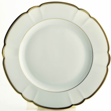 Colette Gold Dinner Plate by R Haviland and C Parlon