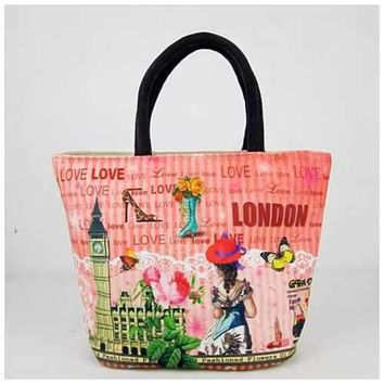Souvenirs Hand Bags In Canvas From Journey Collection
