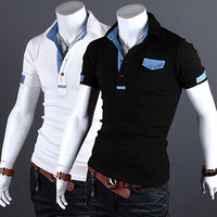 Fashion Slim Fit Polo Shirt