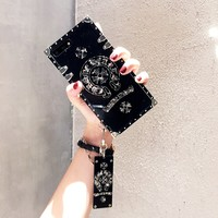 2018 Fashion square phone case for iPhone 6 6s 6Plus 6sPlus 7 7Plus 8 8Plus X