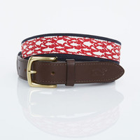 School Of Fish Canvas Club Belt