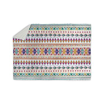 "Nika Martinez ""Native Fiesta"" Sherpa Blanket"
