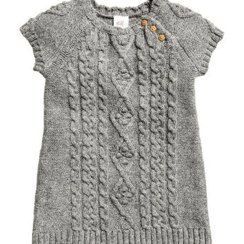Cable-knit Dress - from H&M